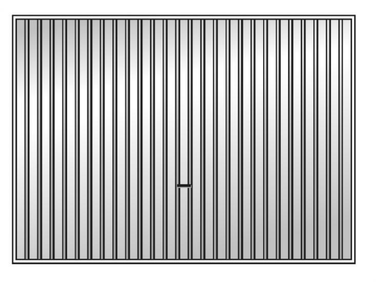 US brama uchylna standardowa