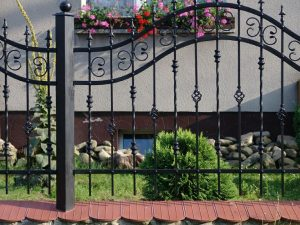 Bram-Stal ogrodzenia posesyjne kute 8